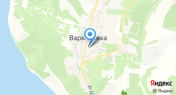 Гостиница Варваровка на карте