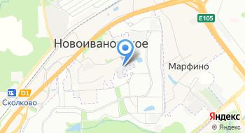 Центр установки на карте