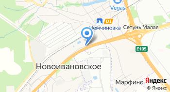 Холодон на карте