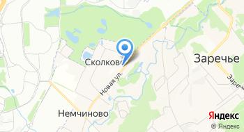Сколковский институт науки и технологий на карте
