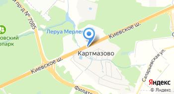 Тойота Центр Внуково на карте