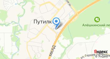 Корпорация развития Московской области на карте