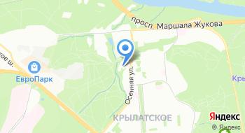 Управление МЧС России по Западному округу на карте