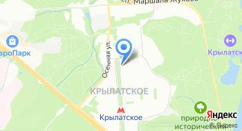 Печати в Москве на карте