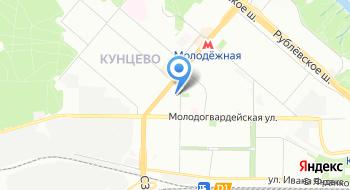 Центральная Профессиональная Автошкола Москвы на карте