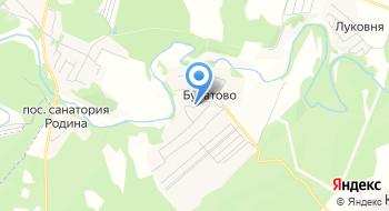 Козья ферма Булатово на карте