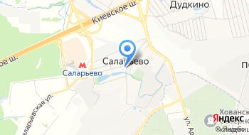 Сибир-Дерево на карте