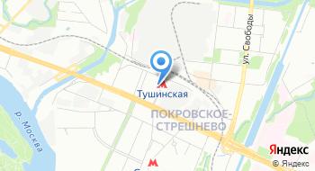 Гранитные Мастерские Московского Союза Художников на карте