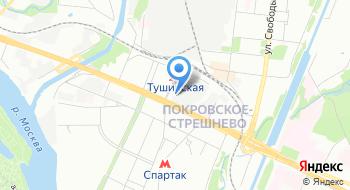 Эвакуация, офис на карте