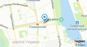Компания Hotnord.ru на карте
