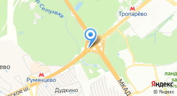 Пансионат Теплые беседы на карте