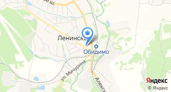 Центр занятости населения Ленинского района, ГУ ТО на карте