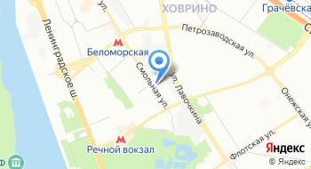 Автошкола при Академии президента на карте