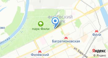 Парк культуры и отдыха Фили на карте