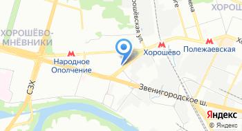 Автоателье Мневники 6 на карте