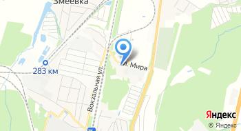 Чехов-Хлеб пос. Столбовая на карте