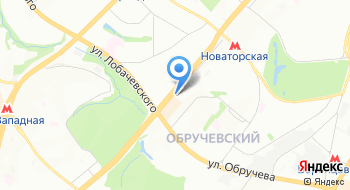 Infiniti на Ленинском на карте
