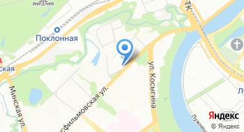 Автомоечный комплекс на Мосфильмовской на карте