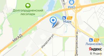 Автохолод на карте