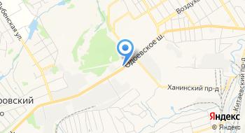 Центргазсервис, центральный офис на карте