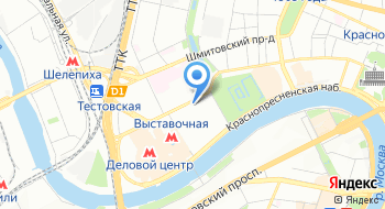 Курьерская служба Бизнес Экспресс на карте