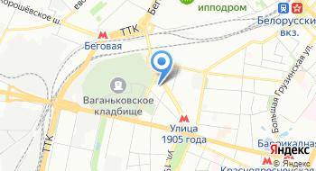 Центр моды России на карте