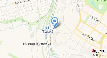 Вагонное ремонтное депо Тула на карте