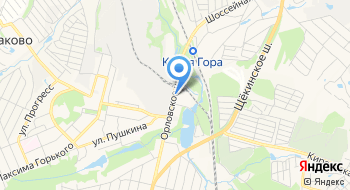 Косогорский металлургический завод на карте