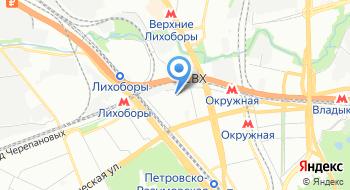 Огни в городе на карте