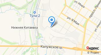 УМВД России по Тульской области Центр профессиональной подготовки на карте