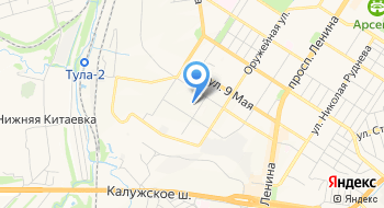 УФМС России по Тульской области Отделение в Привокзальном районе г. Тулы на карте