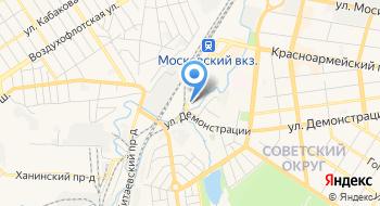 РЖД Филиал Мотор-вагонное депо Новомосковск-1 на карте