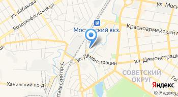 Тульская дистанция электроснабжения МЖД РЖД на карте