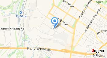 Тульский Арматурно-изоляторный завод Таиз на карте