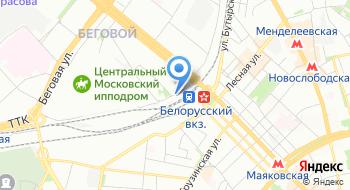Компания Печатный элемент на карте