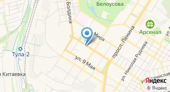 Детская Стоматологическая поликлиника № 1 г. Тулы на карте