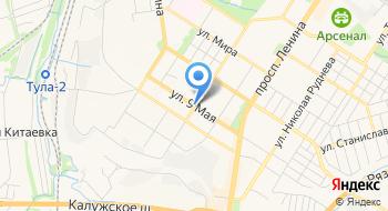Тульская торгово-монтажная компания Кровля и фасад на карте