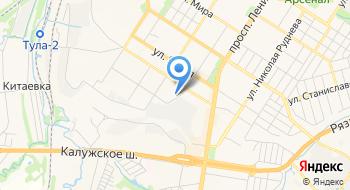 Тульская стоматологическая поликлиника им. С. А. Злотникова на карте