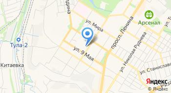Свадьбы в Туле и области на карте