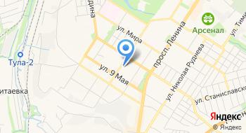 Санаторий-профилакторий Тульского государственного университета на карте