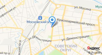 Поликлиника № 1 Отделенческой Больницы РЖД на карте