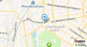 T-100.ru на карте