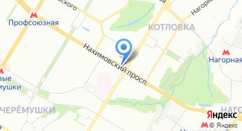 Дом на Фрунзенской на карте