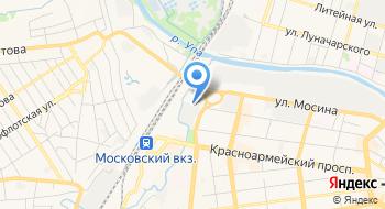 Завод Тула на карте