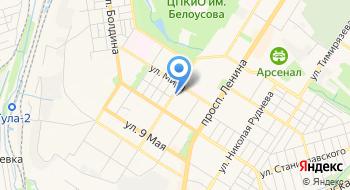 Департамент по контролю и надзору в сфере образования Министерства образования Тульской области на карте