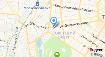 Главное управление МЧС России по Тульской области на карте