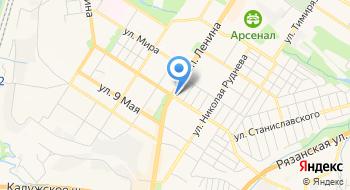 УФМС России по Тульской области Отдел адресно-справочной работы на карте