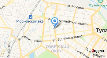 Центр полиграфических товаров и услуг на карте