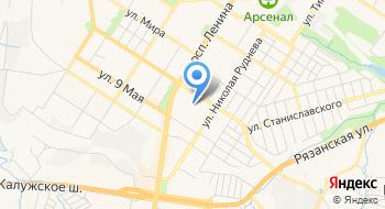Фгбоу ВПО Тульский государственный университет, Бассейн ТулГУ на карте