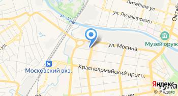 Камуфляжный магазин на карте